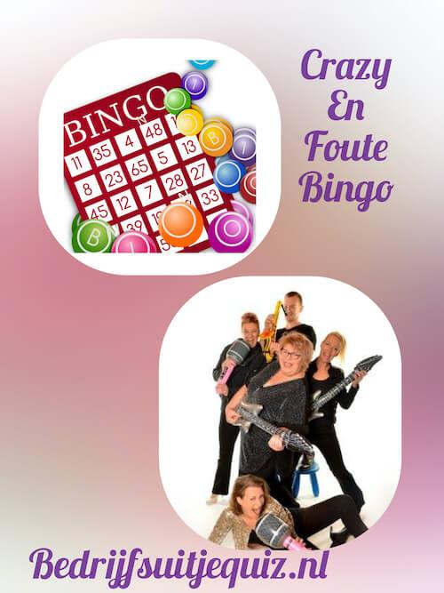 Foute bingo op locatie