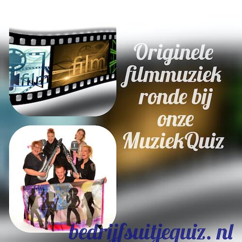 Muziek en film quiz bij bedrijfsfeest