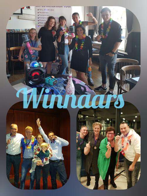 Winnaars van sportquiz
